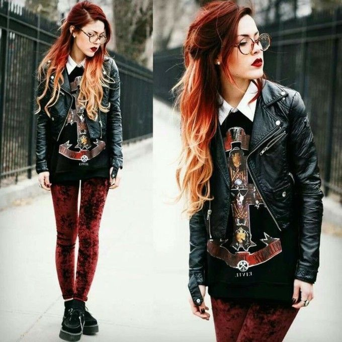 Beautiful Hipster Goth Fashion Style 99+ Beautiful Hipster Goth.