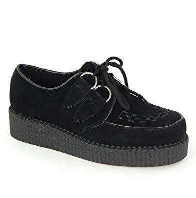 Creepers pour dames |  Chaussures Brogan, Chaussures à plateforme haute, Chaussures mode
