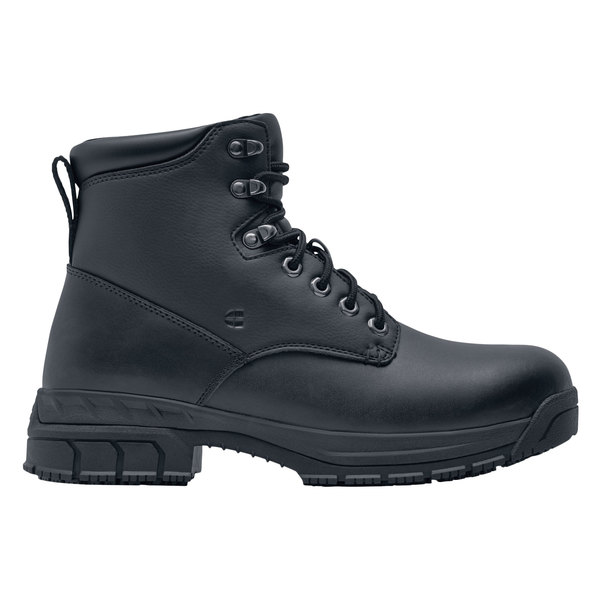Shoes For Crews 77319 August Women's Black Water-Resistant.