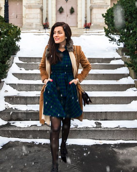 Robe flanelle hiver