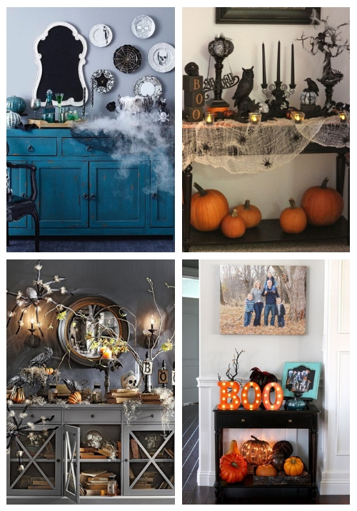 table console halloween    ComfyDwelling.c