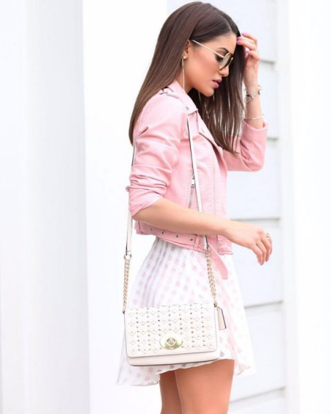 robe patineuse rose patineuse blanche