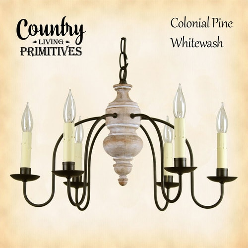 Primitive Chandelier - Carriage House Chandelier - Country Living.