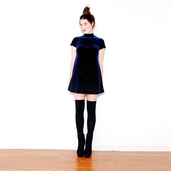 robe patineuse bleue cuissardes