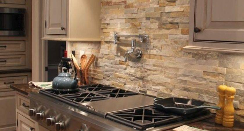 Dosserets de cuisine Cool Stone Rock Wow - Homes Dec