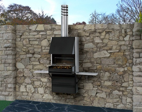 Barbecue Compact Grill - Plek 66 By Rocal - DigsDi