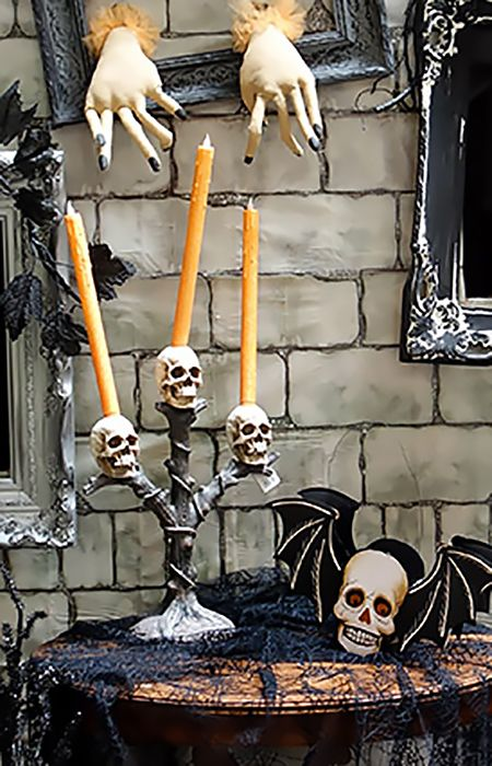 Bougies et bougeoirs d'Halloween |  Traditio