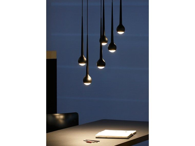 Lampe à suspension LED en aluminium FALLING WATER FALLING Collection by.
