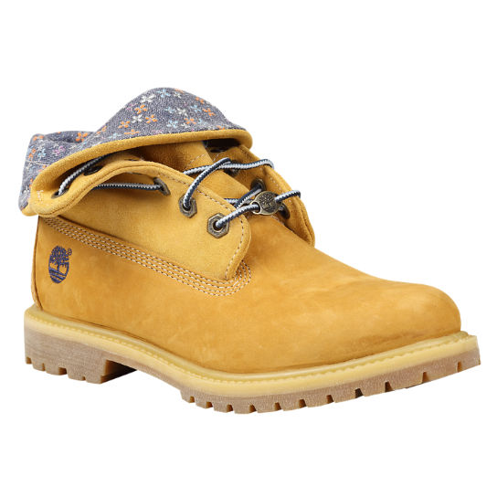 Bottes Timberland® Authentics Roll-Top pour femmes |  Timberland US Sto