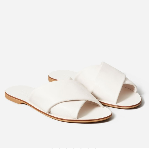 Chaussures Everlane |  Sandales Crossover Day |  Poshma